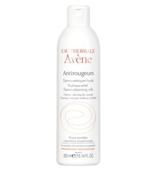 Avene Antirougeurs Redness-Relief Dermo-Cleansing Milk 300ml