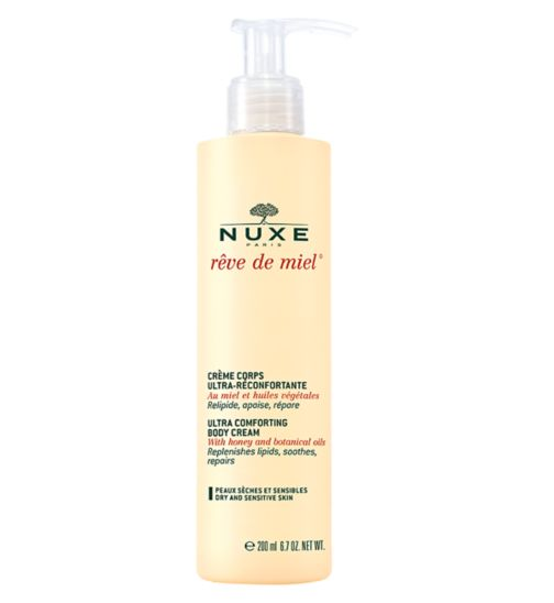 Nuxe Reve de Miel - Ultra-Comforting Body Cream with honey | Dry and sensitive skin | 200ml