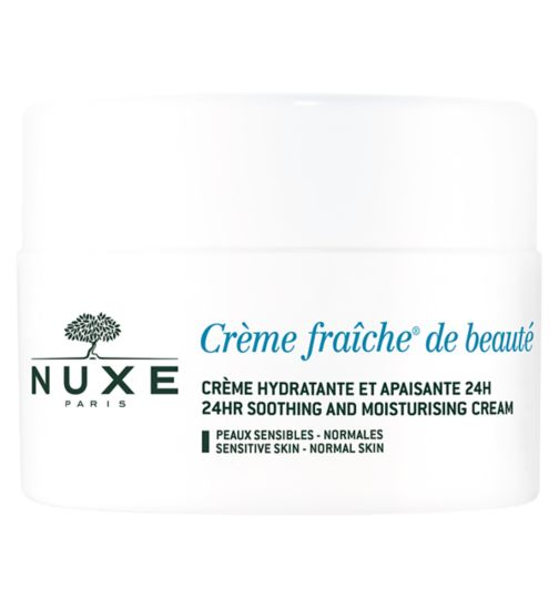 Nuxe Crème Fraîche de beauté - 24HR Soothing and Moisturising cream  | Normal and sensitive skin |