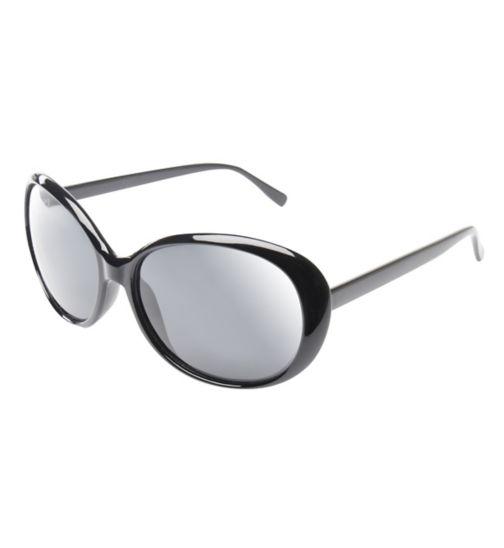 Boots Womens Black Cateye Sunglasses