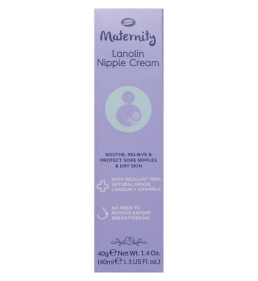 Boots Maternity Lanolin Nipple Cream 40ml