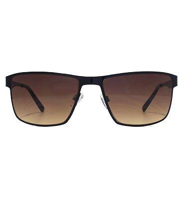 FCUK Sport Sunglasses -Black Metal Frame