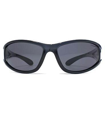 Freedom Sunglass Four Lens Wrap Xtal Dark Grey/Black 26FRG145401