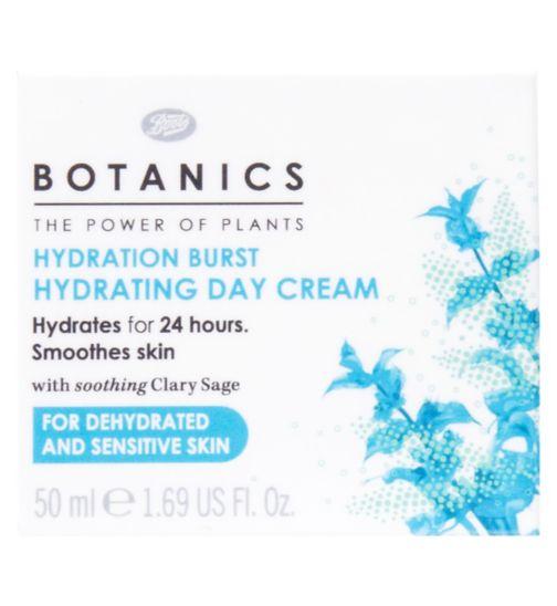 Botanics Hydration Burst Hydrating Day Cream 50ml