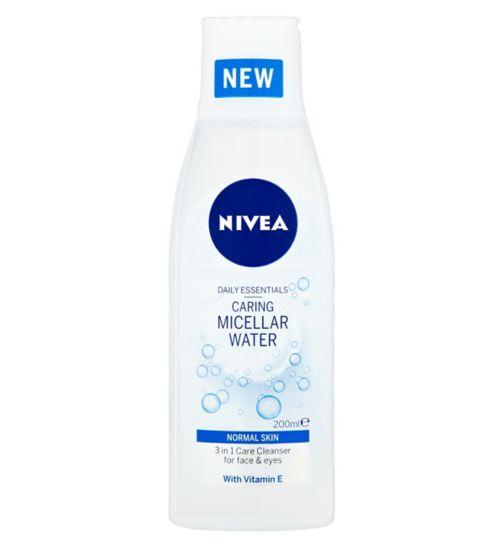 NIVEA Daily Essentials Caring Micellar Water Normal Skin 200ml