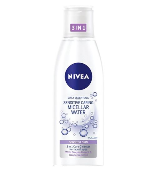 Nivea Daily Essentials Gentle Caring Micellar Water Dry Skin 200ml