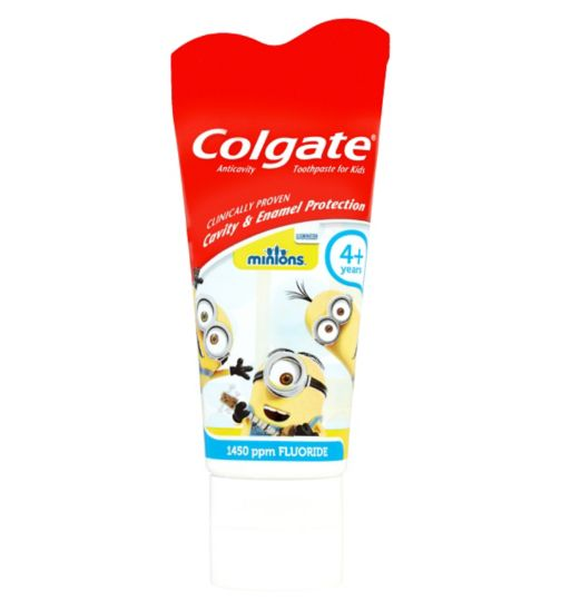 Colgate Kids Minions 4+ Years Mild Flavour Toothpaste 50ml
