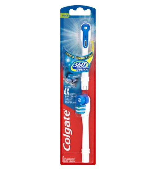 Colgate 360° Whole Mouth Clean Replacement Brush Heads