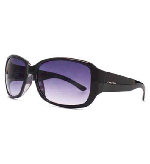 Carvela Classic Black and Coral Sunglasses