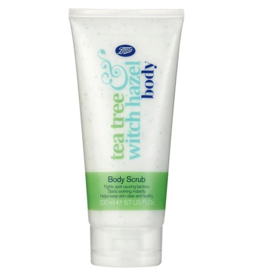 Boots Tea Tree & Witch Hazel Body Scrub 200ml