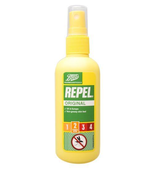 Boots Repel Original Insect Repellent Pump Spray