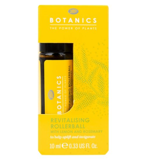Botanics Revitalising Rollerball with Lemon and Rosemary