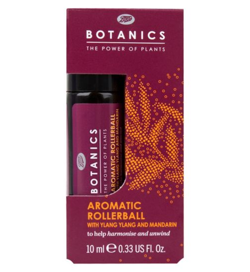 Botanics Aromatic Rollerball with Ylang Ylang and Mandarin