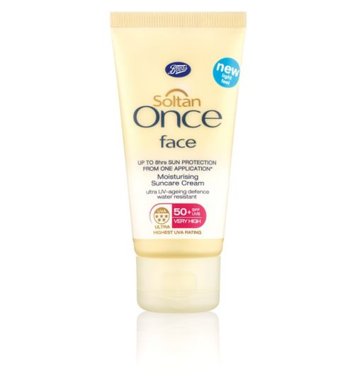 Soltan Once Face SPF50+ 50ml