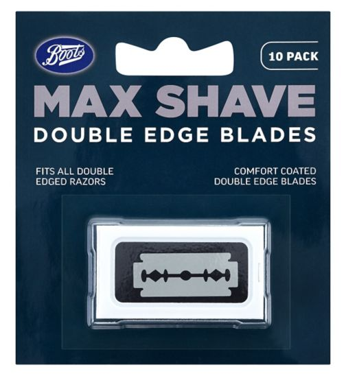 Boots Max Shave Double Edge Blades 10 pack