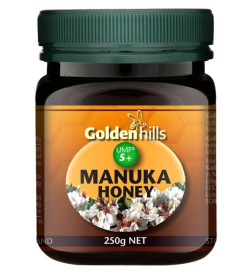 Golden Hills Manuka Honey UMF 5+ 250g