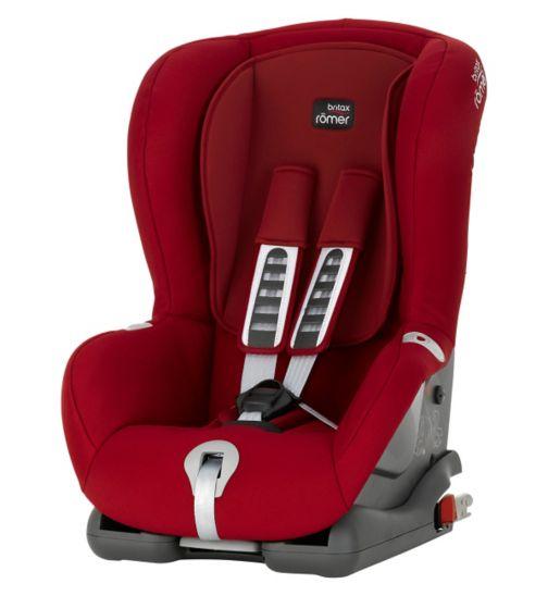 Britax Romer Duo Plus Group 1 Car Seat - Flame Red