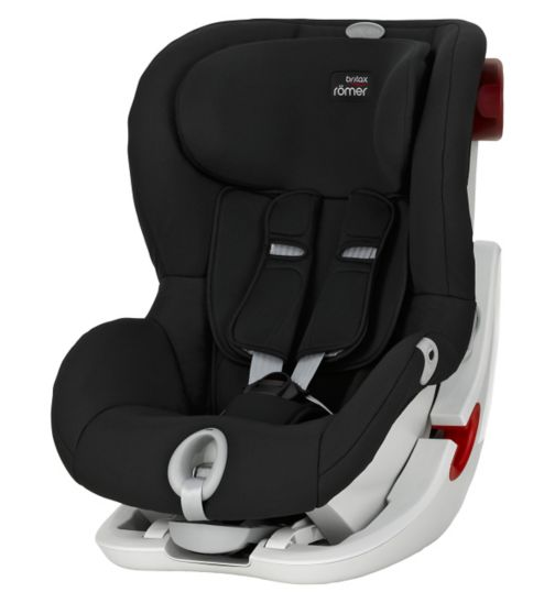 Britax Romer King II LS Group 1 Car Seat - Cosmos Black