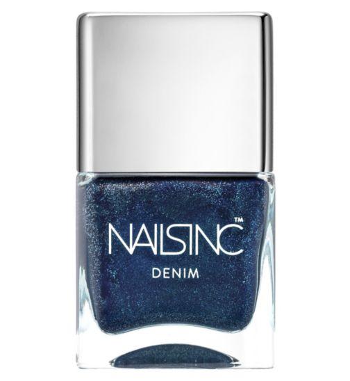 Nails Inc Bermondsey Denim Nail Polish 14ml