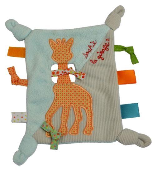 Sophie La Girafe Eye Touch Comforter