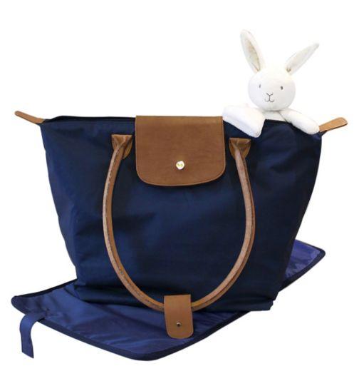 Suncrest Shopper Tote Change Bag - Navy