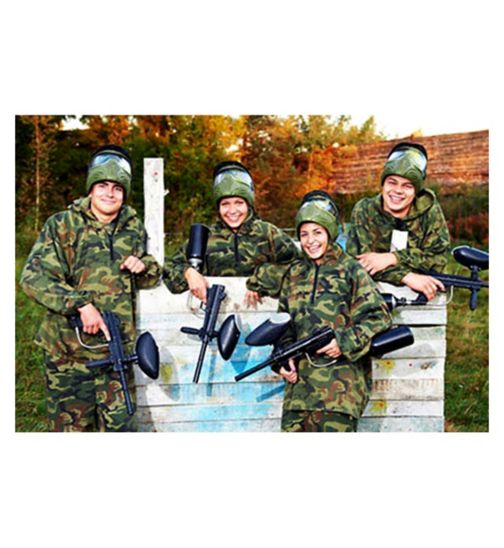 Paintball for Four