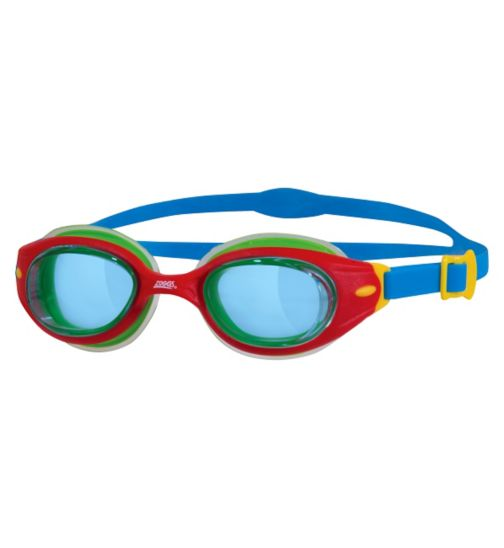 Zoggs Little Sonic Air Goggles Blue and Green