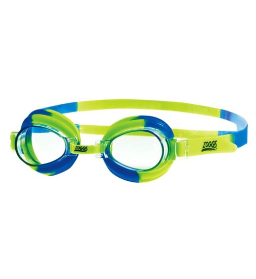Zoggs Little Swirl Goggles Blue and Green