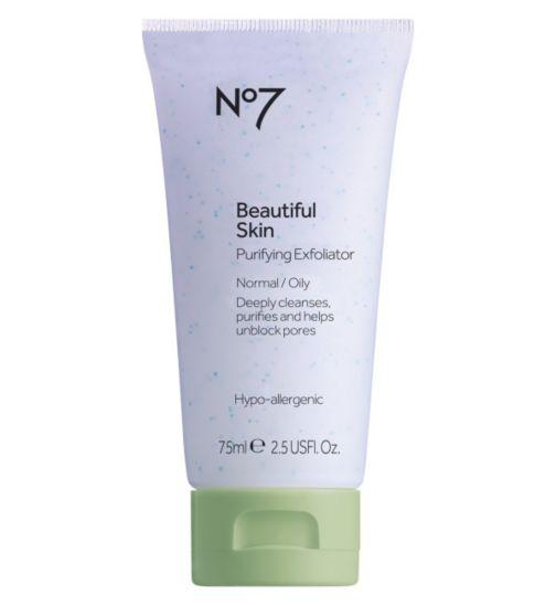 No7 Beautiful  Skin purifying exfoliator