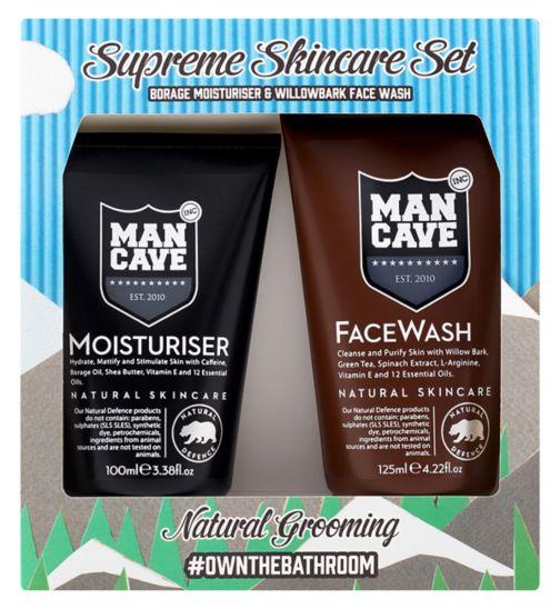 ManCave Supreme Skincare Gift Set