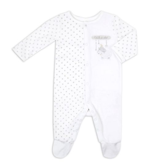 Mini Club Baby Unisex All In One Velour