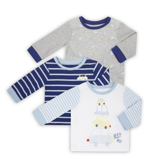 Mini Club Baby Boys 3 Pack Tshirts