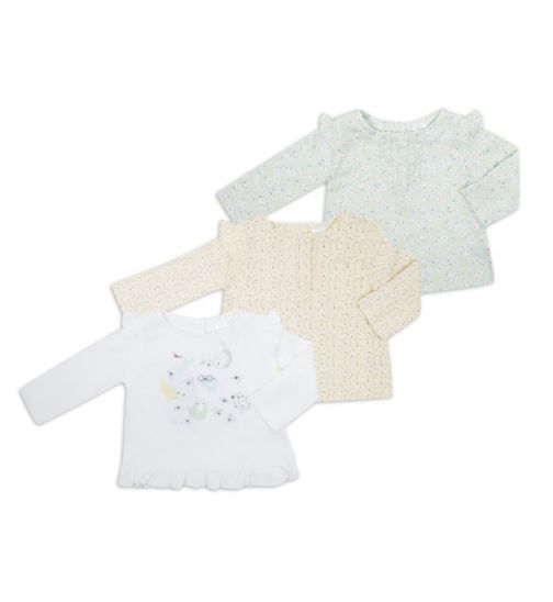 Mini Club Baby Girls Tops 3 Pack