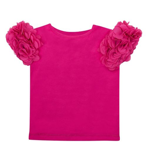 Mini Club Girls Top Pink