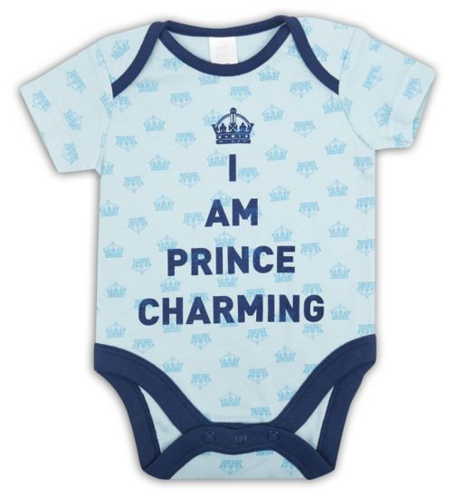Mini Club Baby Boys Bodysuit Prince