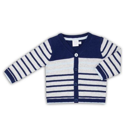 Mini Club Baby Boys Cardigan Stripe