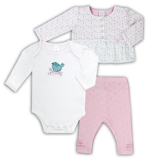 Mini Club Baby Girls 3 Piece Set