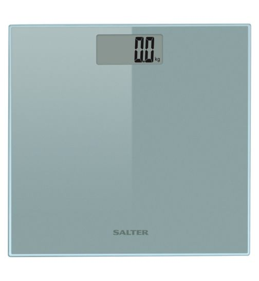 Salter Razor Silver Glass Digital Scale 9028