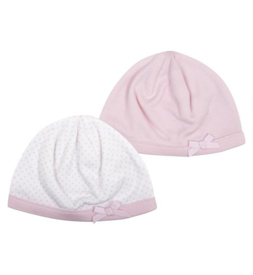 Mini Club Baby Girls Hats 2 Pack