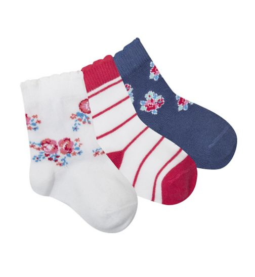 Mini Club Baby Girls Socks 3 Pack