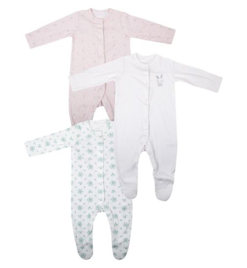 Mini Club Baby Girls All In One 3 Pack