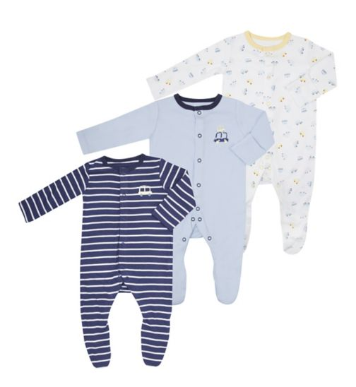 Mini Club Baby Boys All In One 3 Pack