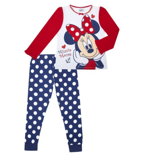 Mini Club Girls Pyjama Minnie Mouse