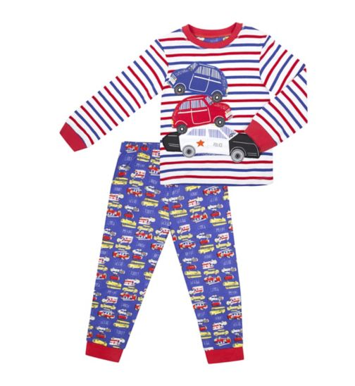 Mini Club Boys Car Print Pyjamas