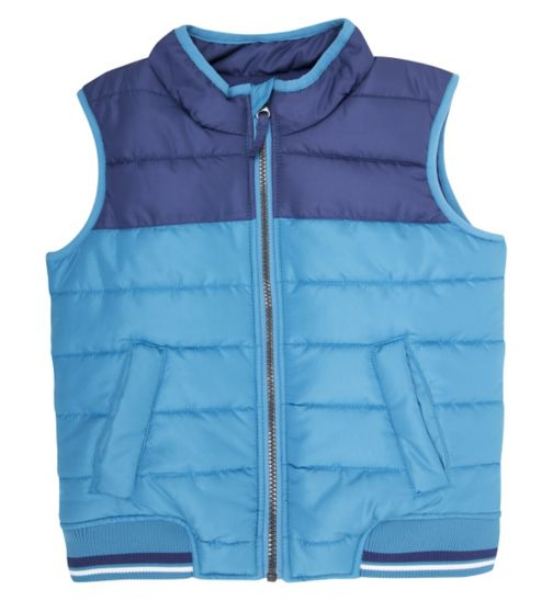 Mini Club Boys Gilet Blue