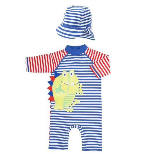 Mini Club Boys Sunsafe and Hat Set