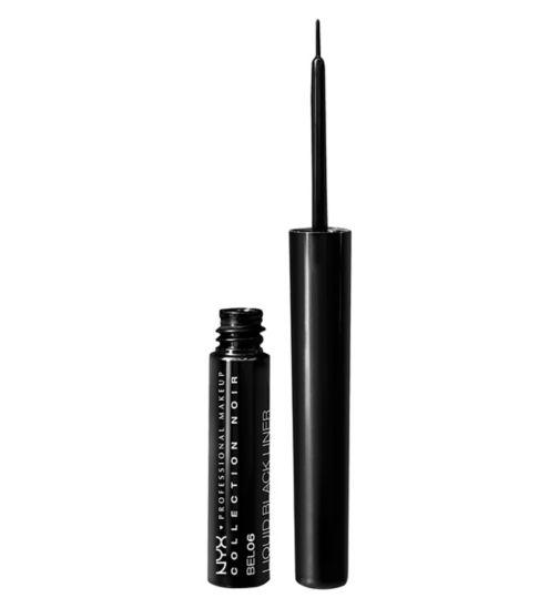 NYX Professional Makeup Collection Noir - liquid black liner 11g