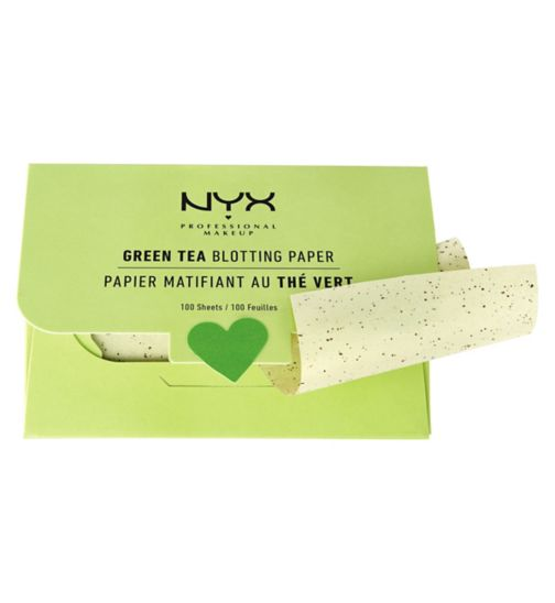 NYX Professional Makeup Green Tea Blotting Paper 100g