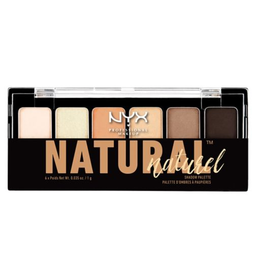 NYX Professional Makeup The Naturel Shadow Palette