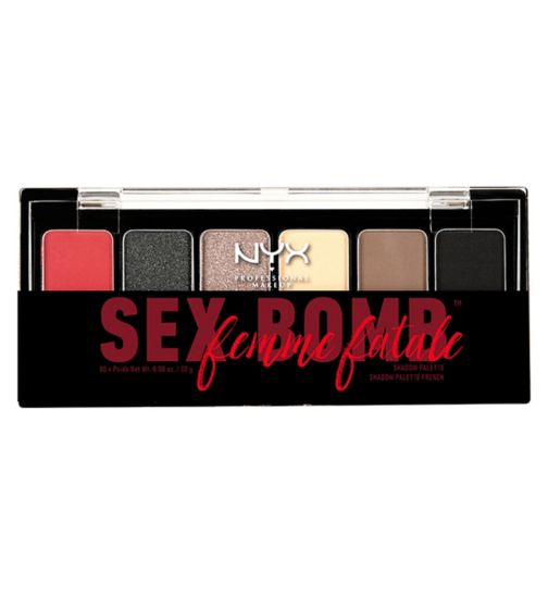 NYX Professional Makeup The Sex Bomb Femme Fatale Shadow Palette